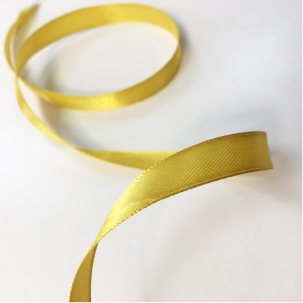 Атласная лента Золото (12 мм) 27 м