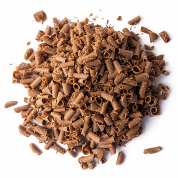 Завитки из молочного шоколада, 40 гр. Callebaut Бельгия