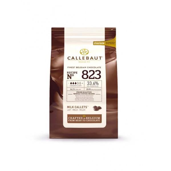 Молочный шоколад 33,6% в каллетах, 1 кг, Callebaut Бельгия