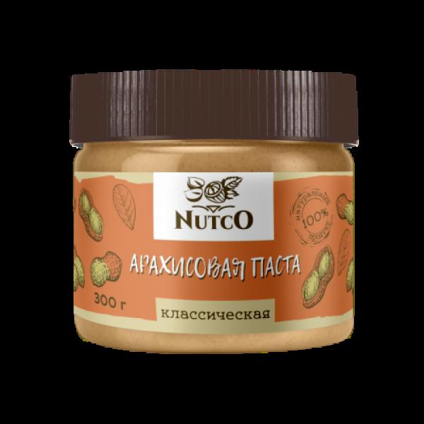 Арахисовая паста NUTCO классическая 300 гр. Россия