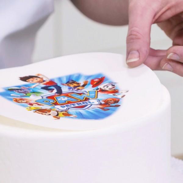 Печать на вафельной бумаге по макету клиента (А4)