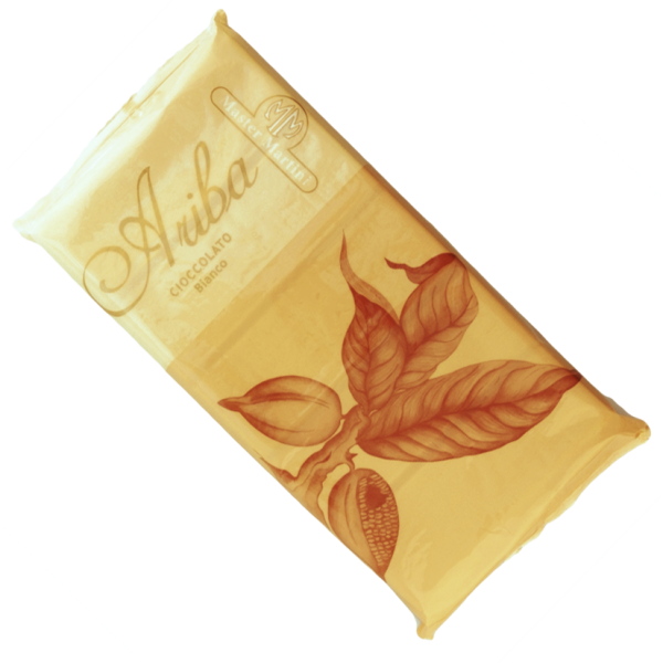 Белый шоколад Ariba Bianco Pani 31% в плитках, 1 кг, Master Martini Италия