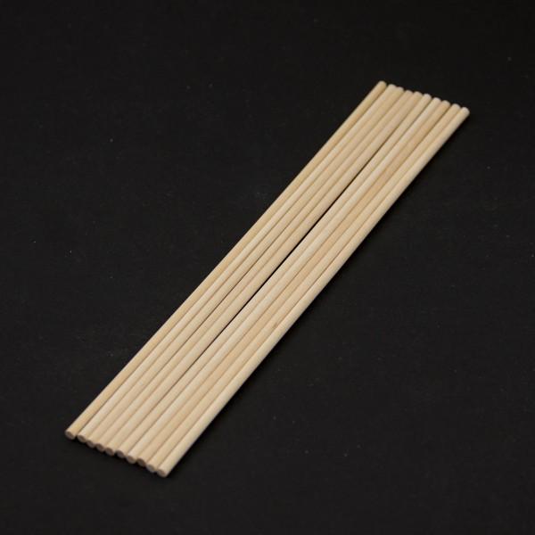 Палочки деревянные для кейк-попсов и леденцов 20 см, набор 10 шт.