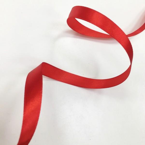 Атласная лента Красная (12 мм) 27 м Арт. 6078