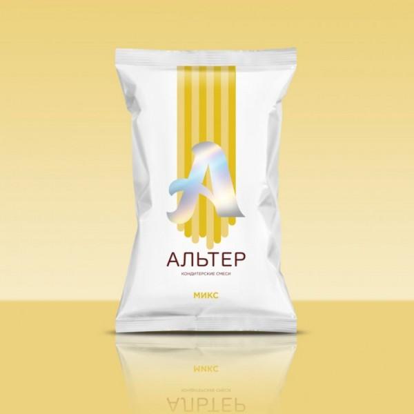 """Сухая кондитерская смесь для безе, зефира и птичьего молока """"Альтер-микс"""" (Альбуфикс) 250 гр."""