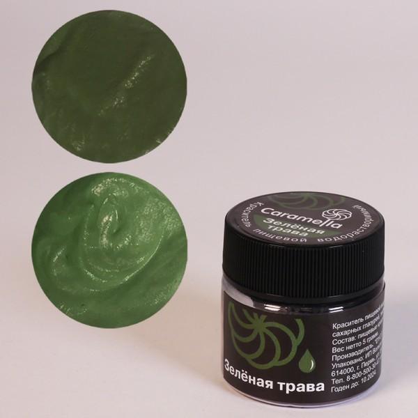 Водорастворимый краситель Зеленая трава Caramella 5 гр.